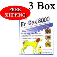 3 Box Pet Tablet Pill En Remove Prevent Ticks and Fleas for Big Dogs Cats