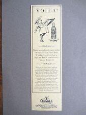 BOOKMARK Vintage GLENFIDDICH Scotch Whisky MACMILLAN Advertising Promo 1987