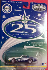 SEATTLE MARINERS DIE CAST CAR #1 OF 4 FOR 25TH ANNIVERSARY 2,500 L.E.