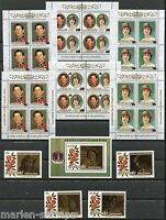 AITUTAKI LOT OF STAMPS AND SOUVENIR SHEETS  MINT NEVER HINGED FULL ORIGINAL GUM
