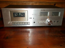 Vintage Rotel Stereo Cassette Tape Deck RD-15F