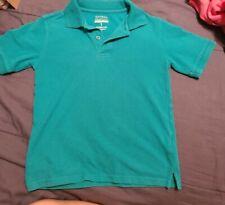 Girls George aqua teal Uniform collared Polo Shirt-Size M 8