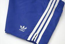 Mens Adidas Vintage Nylon Shorts Blue Size D7 / L