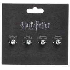Harry Potter Spell Bead Charm Set of four beads - Official Merchandise