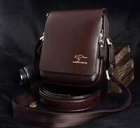 Well-made Goods Men's PU Authentic Kangaroo Shoulder Bag FT