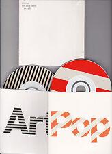 COFFRET 2 CD CARTONNES CARDSLEEVE 35T PET SHOP BOYS THE HITS POP ART COLLECTOR