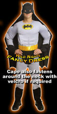 Fancy Dress Costume Quality Muscle Chest Batman Small
