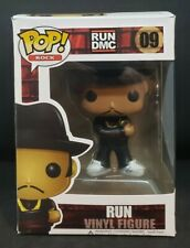 Funko Pop! Rock: Run #09 Run Dmc Vaulted Rare w/ Protector