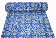 Kantha Quilt Indian Handmade Bedspread Cotton Blanket Coverlet Bedding Ethnic