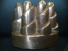 Antique Victorian Benham Froud copper jelly mould Buszard advertising cake 19th