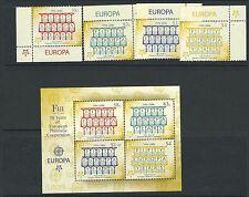 FIJI 2005 EUROPA 50th ANN. of PHILATELIC COOPERATION set and sheet VF MNH