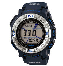 CASIO PROTREK TOUGH SOLAR TRIPLE SENSOR BLUE WATCH PRG-260-2 PRG-260-2DR