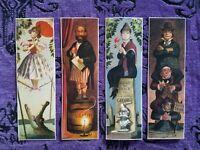 Haunted Mansion Stretching Room Portraits Marc Davis Concept Art Prints Set of 4