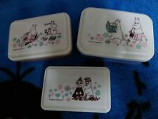 Moomin Characters Plastic Microwave Snack Container