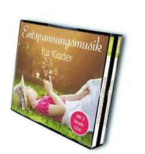 Entspannungsmusik für Kinder, 3 Audio-CDs 3 Audio-CD(s) Various