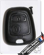 Coque Plip Clé Télécommande Peugeot 106/206/107/207/307/406/407 (key car) + logo