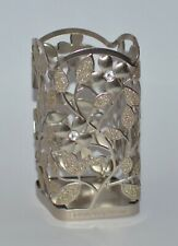 BATH & BODY WORKS DOGWOOD FLOWER METAL GENTLE FOAMING HAND SOAP SLEEVE HOLDER