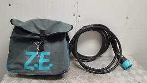 2016 RENAULT ZOE MK1 CHARGING CABLES LEADS AND BAG 296957361R