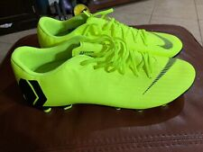 New Nike Me Mercurial Vapor 12 Academy MG Soccer Cleat Volt AH7375-701 Size 11.5