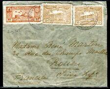 Paraguay - Enveloppe de Asuncion pour la France en 1937 , oblitération Zeppelin