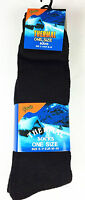 12 Pairs Mens Extra Long Black Wellington Boots Thermal Warm Winter Socks Wellie