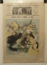 Caricature, Journal l'éclipse, L'union fait la force , Gill, 21 Septembre 1873