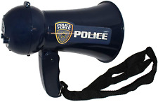 Megaphone For Kids - Pretend Police Costume For Kids - Police Officer Toys - Lou