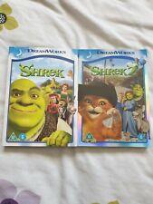 Shrek 1+2 dvd