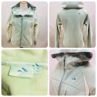 Denali women's jacket Size Medium Zip water resistant fleece lined coat Hooded