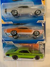 Hot Wheels 3 Lot 1969 Dodge Coronet Super Bee 1/64th Scale