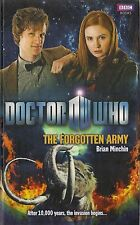 DOCTOR WHO<>THE FORGOTTEN ARMY by BRIAN MINCHIN<>11th DOCTOR<>HARDBACK BOOK  ~~
