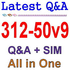 Certified Ethical Hacker v9 312-50v9 Exam Q&A PDF+SIM