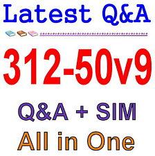 Certified Ethical Hacker v9 312-50v9 Exam Q&A PDF+SIM