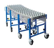 Expanding Skate Wheel Conveyor 450mm Wide, 6600mm Expanded