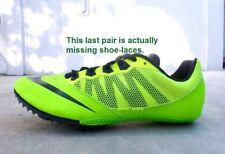 Women's Nike 'Rival S VII' Sprint Track Shoes sz 8 NEON GREEN running,hurdles