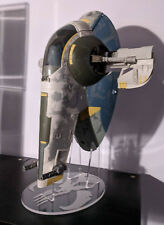 1 x Acrylic Display STAND - Star Wars - Hasbro Deluxe Slave One Amazon/TRU exc.