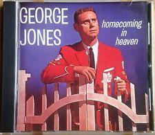 "GEORGE JONES ""HOMECOMING IN HEAVEN"" HARD TO FIND RAZOR & TIE CLASSIC REISSUE CD"