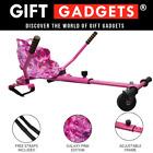 Galaxy Pink Hoverkart Hover Cart Go Kart Straps Adjustable For Balance Boards UK