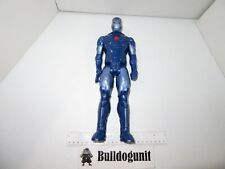 """Stealth Iron Man Figure Only 12"""" Hasbro Blue Red Avengers 2013"""