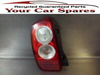 Nissan Micra Rear Light Assembly Passenger Side K12