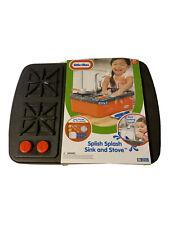 Splish Splash Sink Tikes Little Stove Play Set Water Kids Kitchen Toy Indoor