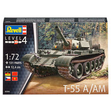 Revell T-55 a/am Tank Model (nivel 4) (Escala 1:72) 03304 Nuevo