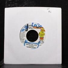 "George Nooks - Pretty Girl (Sue) 7"" VG+ Vinyl 45 John John Jamaica 2001"
