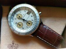 OROLOGIO CRONOGRAFO HAMILTON HTC CHRONOGRAPH WATCH REF 0343 CAL. LWO 283 40J B&P
