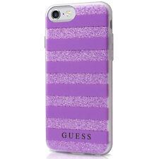 Guess 3D Gel Cover for Apple iPhone 7 Plus - Purple Haze 3D Glitter