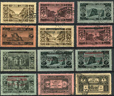 LEBANON Grand Liban POSTAGE DUE French Mandate Stamps Collection LIBANAISE Used