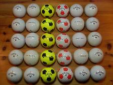 30 CALLAWAY CHROME SOFT gebrauchte Golfbälle Lakeballs