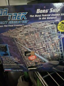 Star Trek Playmates 1994 Borg Cube Ship