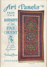 """1937 """"Art Panels from the Handlooms of the Far Orient"""" Rug Book Photos, Pushman"""