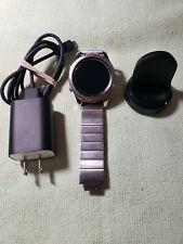 Samsung Gear S3 Watch (46mm) SM-R805 GPS + LTE Verizon Silver Smartwatch 46mm